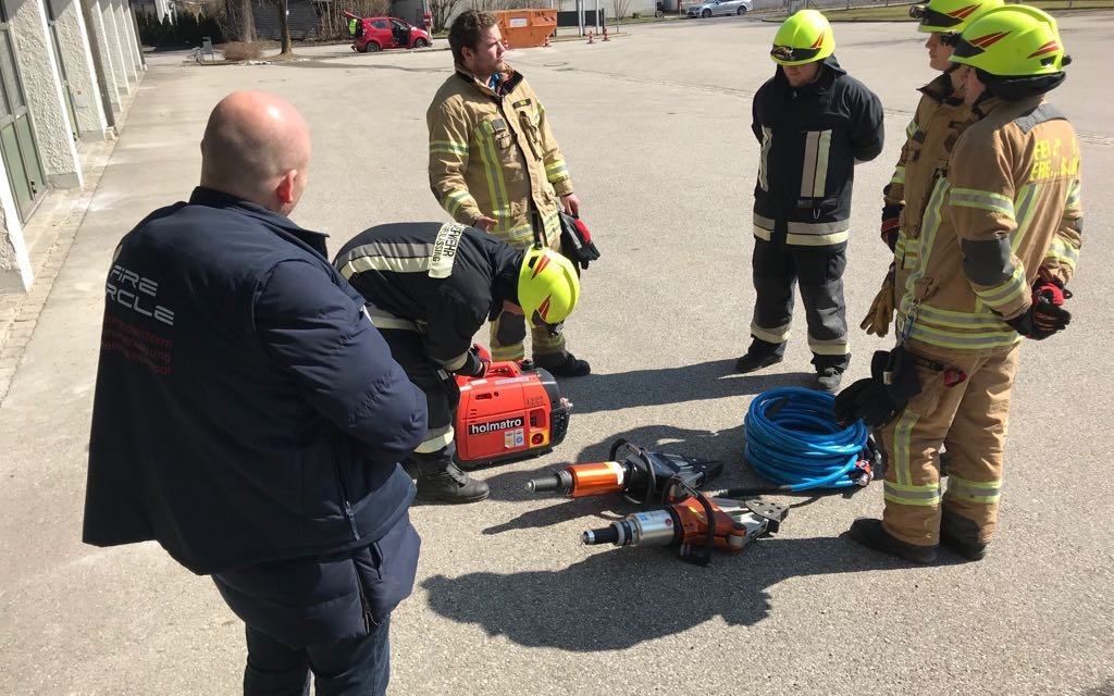Feuerwehr Freilassing. Fortbildung und Tagesseminar Train the Trainer