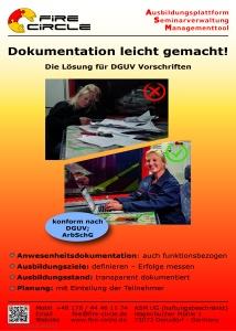 DGUV, ArbSchG, Dokumentationspflicht Feuerwehr