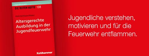 Kohlhammer Jugendfeuerwehr rotes Heft